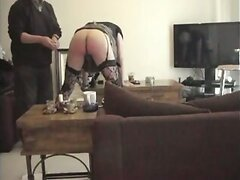 submissive cd takes punishment and fist