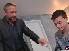 Trevor Spade fucked hard by his step dad