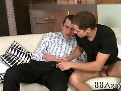 Wicked gay sex with hot hunks  scene 2
