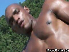 Muscular Bareback Latino Gays  scene 2