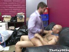 John Magnum makes office worker cum