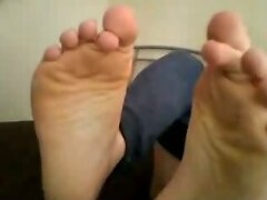 turkish guys showing their feet on webcam