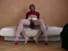 Gorgeous CD Takes Cock In The Ass