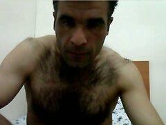 hot hairy arab wank till cum