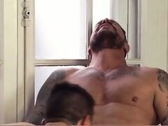 White Daddy Fucks White Guy  scene 6