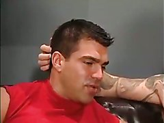 Sweet and Beefy Tattooed Mates Hard Ass Splitting  scene 2