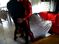 2 men in zentai lycra p1