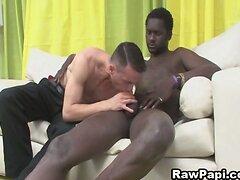 Hot Latino Do Bareback Sex With Black Guy