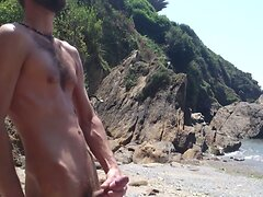 handjob on beach