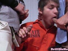 Muscular Landon Conrads bj for inmate
