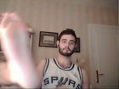 guys feet on webcam male feet pies masculinos  scene 4