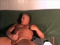 matured shaved and hot nipped dad jacks off
