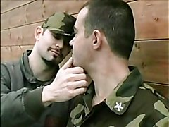 in the army now sucking a big cock