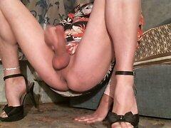 Stroking Clit Bare Legs Spread 2