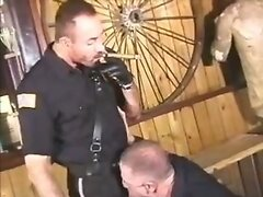 Beefy Cigar Smoking Cops and their Delivery