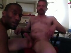 Black Basketball Player Sucks Big White Dick
