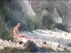 Gay guys caught on nudist beach