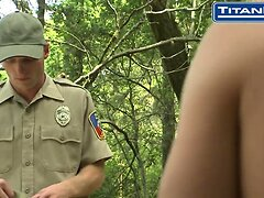 Deputy Finds Furry-Chested Nude Camper
