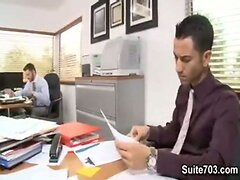 Mario Costa and Tommy Defendi Fucking in the Office