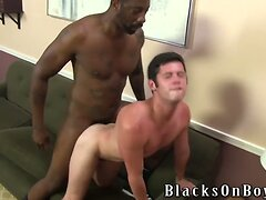 Chase Young Gets fooled Into Taking A Black Cock