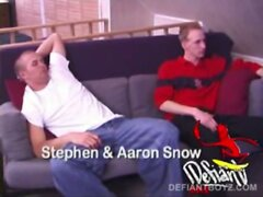 Young Stephen and Aaron Snow Fuck