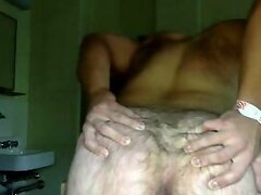 Handsome Str8 Man Shows His Hairy Big Ass 1st Time On Cam
