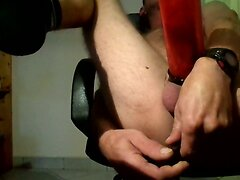 penis pump and prostate massage