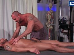 Post Workout Muscle Massage And Fuck