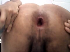 My asshole gape