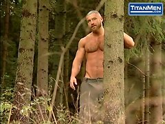 Hairy Pig Daddies Get Holes Hammered By Hot Uncut Camper