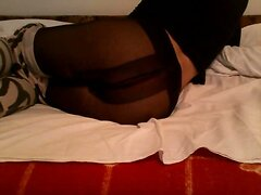 fingering in leggings and pantyhose  scene 2