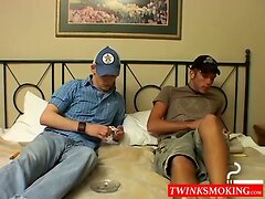 Young men Kenny and Christian love hot mutual sucking
