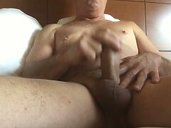 Masturbating in the morning  scene 2