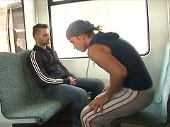 Gay sex in train videos