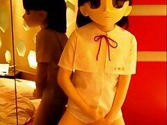 kigurumi masturbating  scene 4