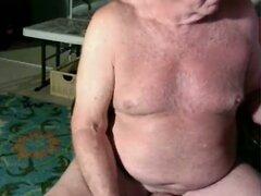 grandpa stroke on cam  scene 2