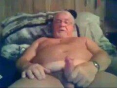 grandpa cum on cam  scene 5
