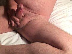 Wanking and cumming 2