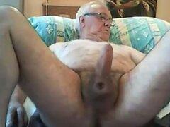 grandpa stroke on cam  scene 7