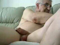 grandpa stroke on cam  scene 11