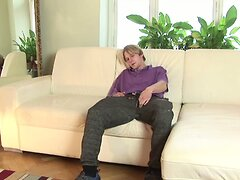 Big Dick Blond Rado Novy Stroking Off