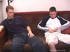 Lance and Colin Suck Cock