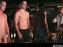 College fraternity hazing with a gay twist  scene 2