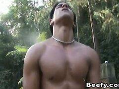 Hardcore Bareback Gay Sex Outdoor