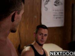 Alexander Gustavo penetrates Brenner Bolton from behind