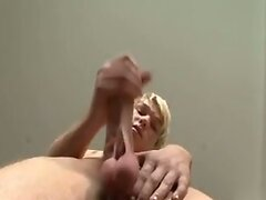 Sweet Blond Twink Wank his Big Cock