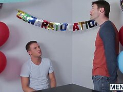 Scott Riley receives big dick from his unce Dennis West