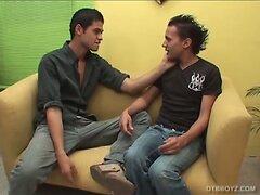 Latin Boys Alfredo and Roger Bareback