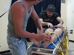 Gay Asian Twink Diamond Thief Tickle Interrogation
