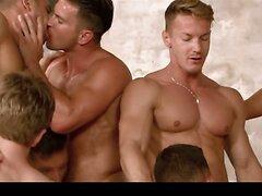 Pornostar Gay Orgy